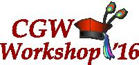 [CGW'16 logo]